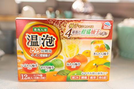 温泡 ONPO とろり炭酸湯 ぜいたく柑橘柚子
