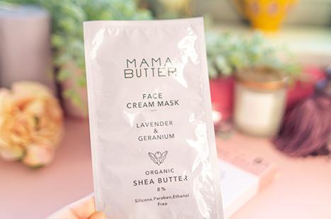 ママバター  フェイスクリームマスク