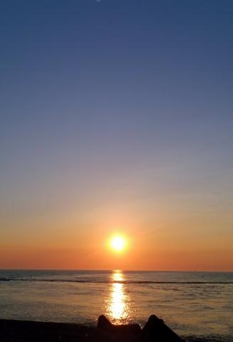 日本海の夕陽201905040028