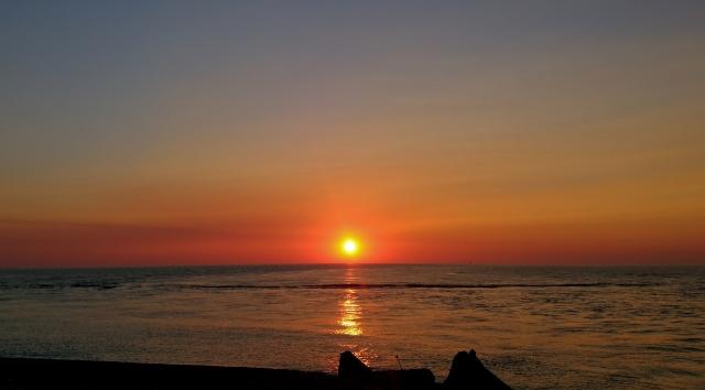 日本海の夕陽201905040029