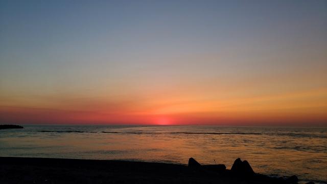 日本海の夕陽201905040030