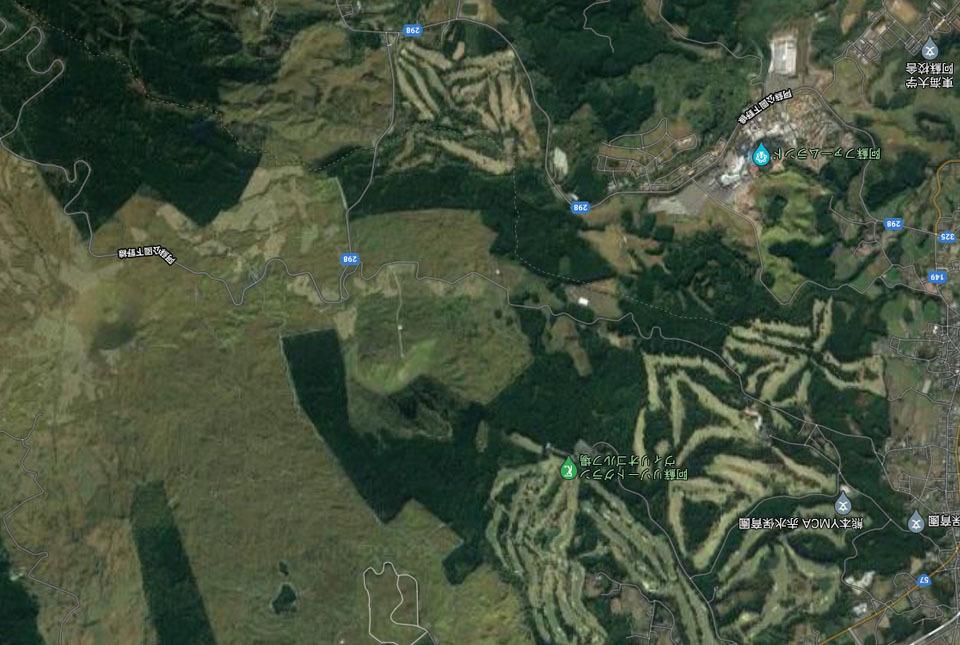 グーグル地図航空写真