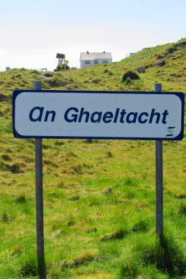 ghaeltachtsignpost