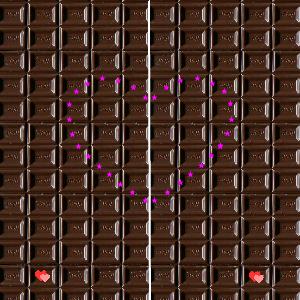 バレンタインペア画