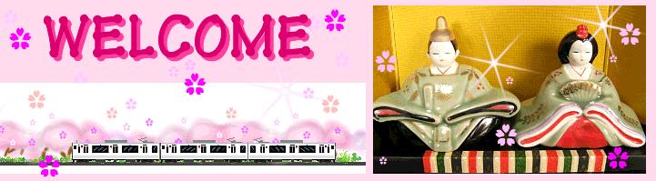 817系電車とおひなさま
