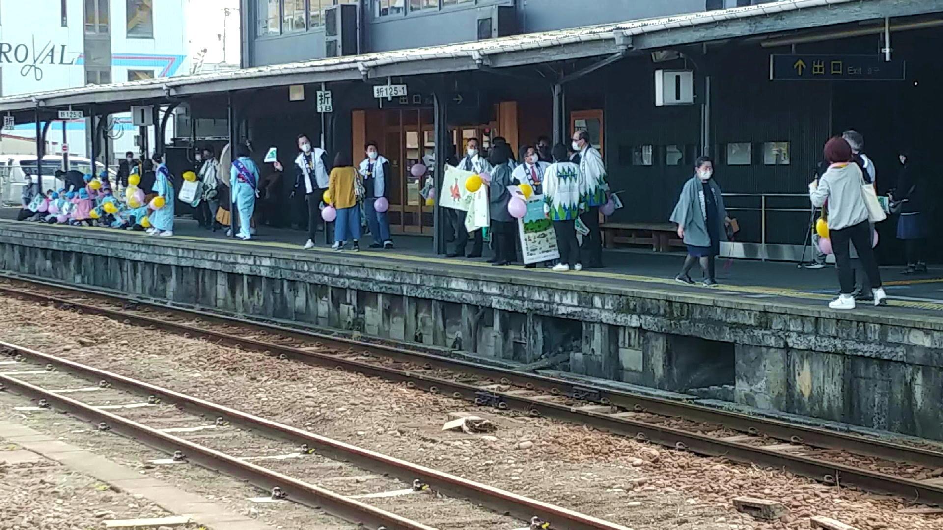 日田駅3月1日