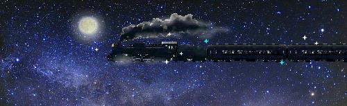 お月見銀河鉄道