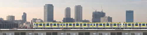 電車イラストフリー素材