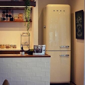 イタリアの冷蔵庫 スメッグ
