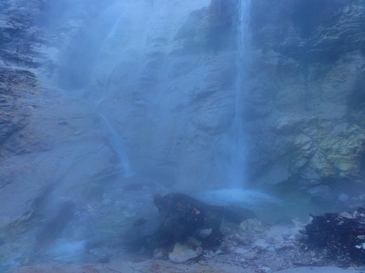 川原毛大湯滝