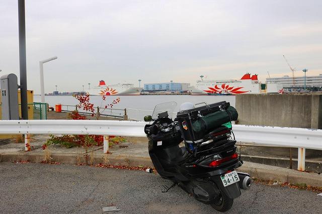 今年最後のキャンプツーリング 2020・大阪南港