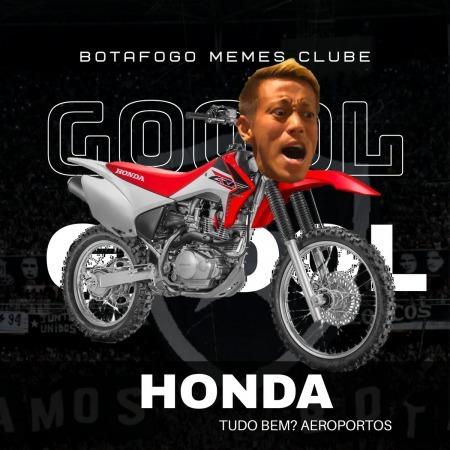 honda keisuke 1st goal for Botafogo