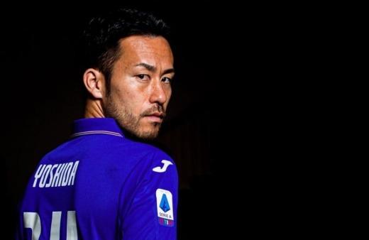 Yoshida already an idol here at Sampdoria
