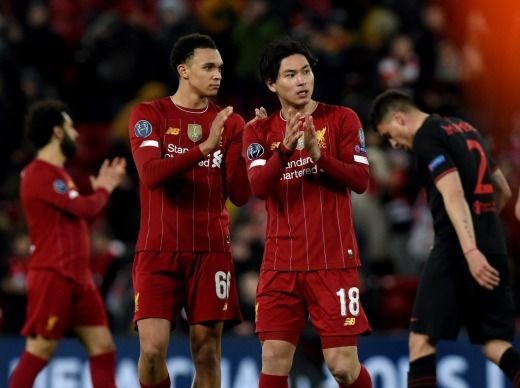 Liverpool Echo Alexander-Arnold makes amusing Takumi Minamino admission