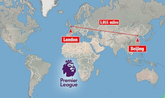 One Premier League club has suggested the extreme idea of finishing the season out in China