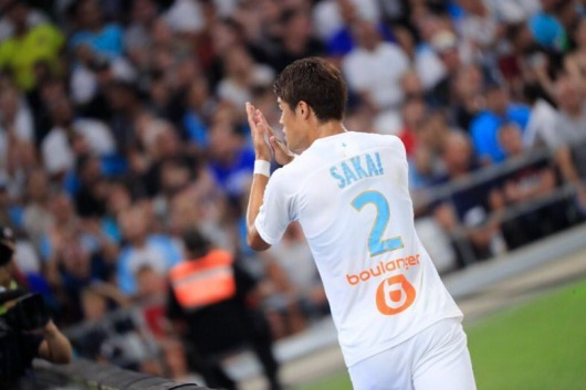 Hiroki Sakai has donated 20,000 euros to the Marseille Public Hospital Assistance