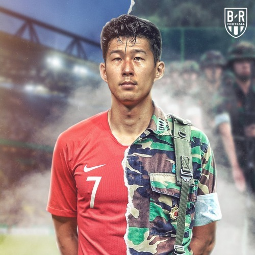 Son Heung Min will participate in the following whilst on military service