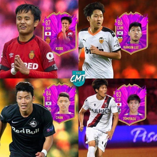BEST FIFA20 CAREER MODE ASIAN TALENTS Kubo Tomiyasu