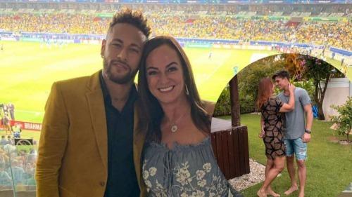 Neymars mother dating 22-year-old gamer