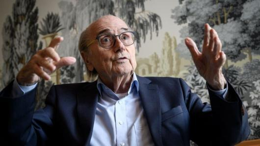 Former FIFA president Sepp Blatter suggested the 2022 World Cup could be moved to US or japan