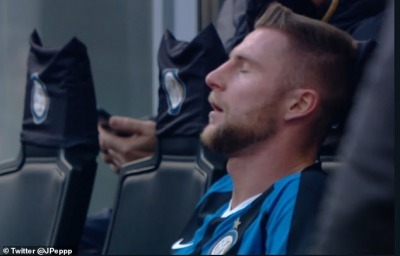 Skriniar had to be substituted after just 17 minutes against Cagliari as he felt unwell