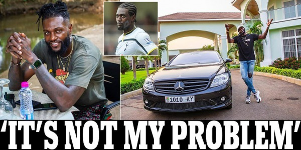 Adebayor I didn't bring the Corona virus to Togo, so why donate