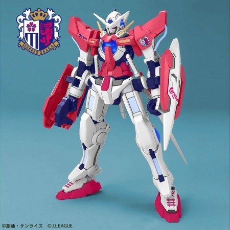 J League collaborating with Gundam Cerezo osaka