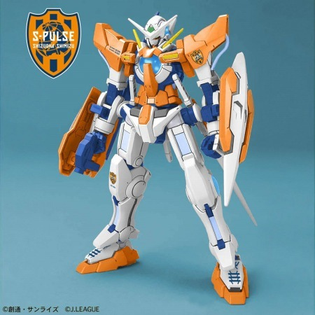 J League collaborating with Gundam Shimizu S-Pulse