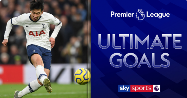 The greatest ever premier league goal as voted for the fan Son Heung-min