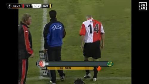 Feyenoord - Dortmund UEFA Cup finale 2002 ono bow