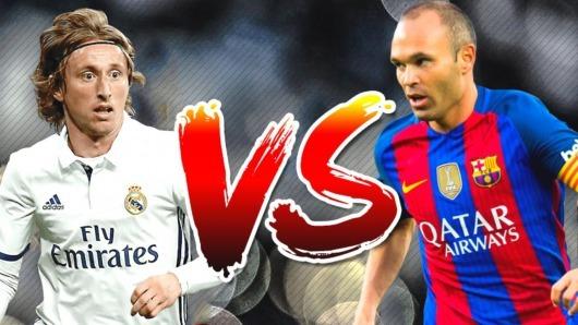 Luka Modric VS Andrés Iniesta