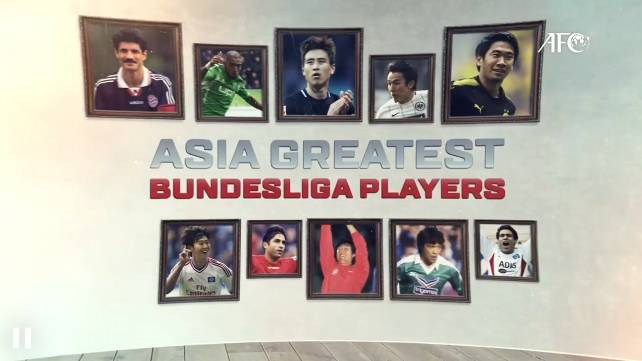 Who is Asias greatest Bundesliga player