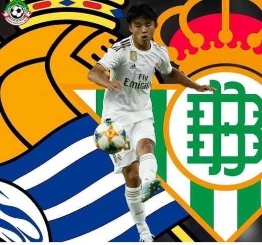 Betis and Real Sociedad fight over Takefusa Kubo