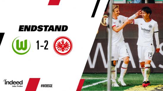 Wolfsburg 1-2 Eintracht Frankfurt Daichi Kamada goal