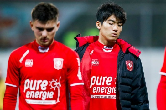 Nakamura on his way to fc Twente exit