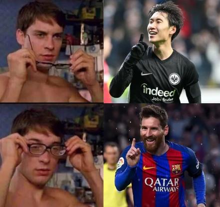 Kamada or Messi