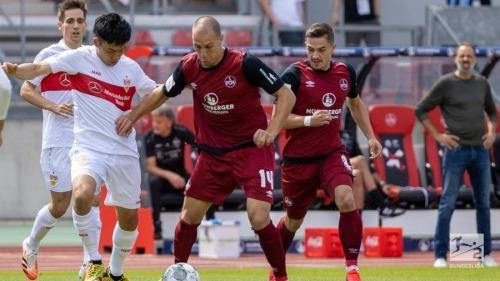 FC Nürnberg vs VfB Stuttgart Endo Wataru