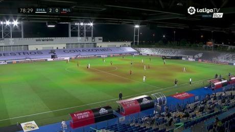Kubo heatmap Real Madrid 2-0 Mallorca