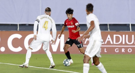 Takefusa Kubo Impressed Zinedine Zidane Against Real Madrid