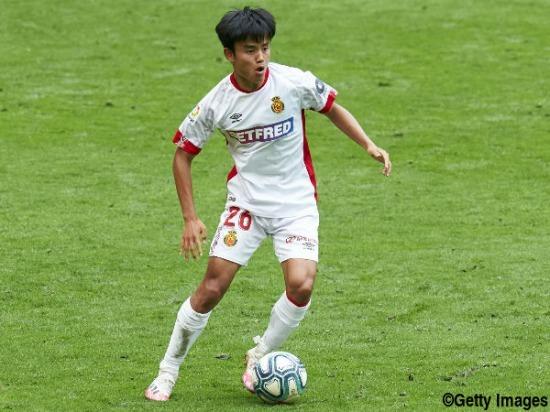 kubo takefusa Athletic Club 3-1 Mallorca