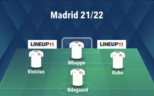 Vinicius Mbappe Kubo Odegaard 20_21 real madrid