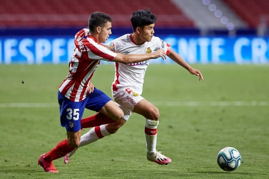 Takefusa Kubo vs Atletico Madrid (03_07_2020)
