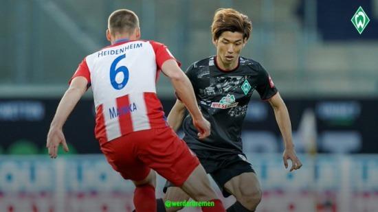 Heidenheim [1]-1 Werder Bremen