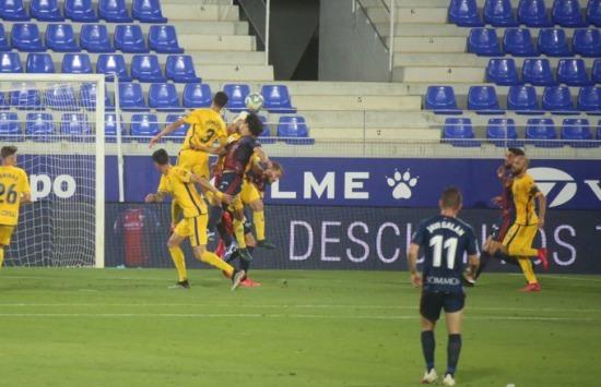 Huesca [2]-1 Alcorcon Shinji Okazaki goal