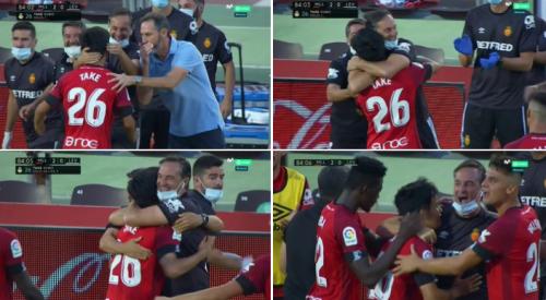 Mallorca 2-0 Levante Takefusa Kubo goal