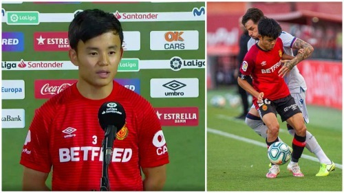 Kubos self-confidence in the field and in front of the cameras that Madrid fans fall in love with