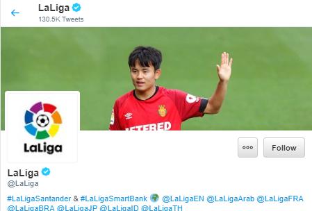 la liga kubo header twitter
