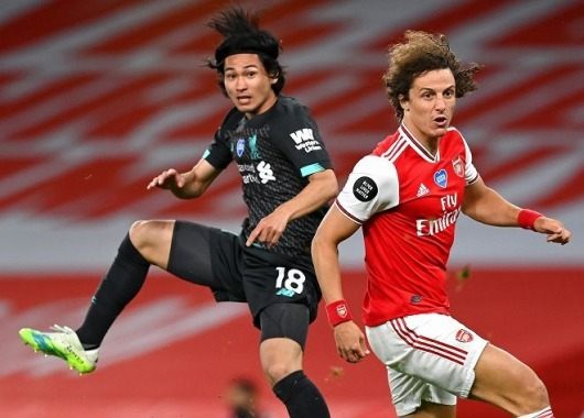 Minamino VS Arsenal 2_1