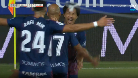 Huesca 3-0 Numancia - Shinji Okazaki back-heel goal