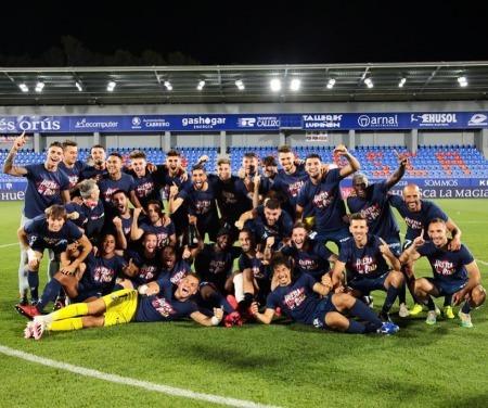 Huesca promoted to La Liga Okazaki